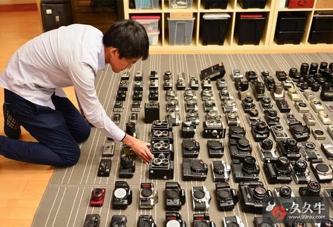 西安小伙收藏相机