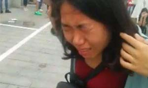 艺考生被喷辣椒水 执勤员过激行为伤害考生家长愤愤不平