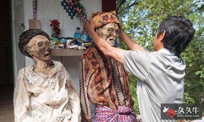 揭苏拉亚的部落神秘赶尸真相