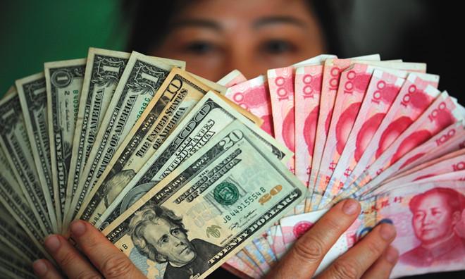 8日人民币对美元中间价下跌63点     报6.8947