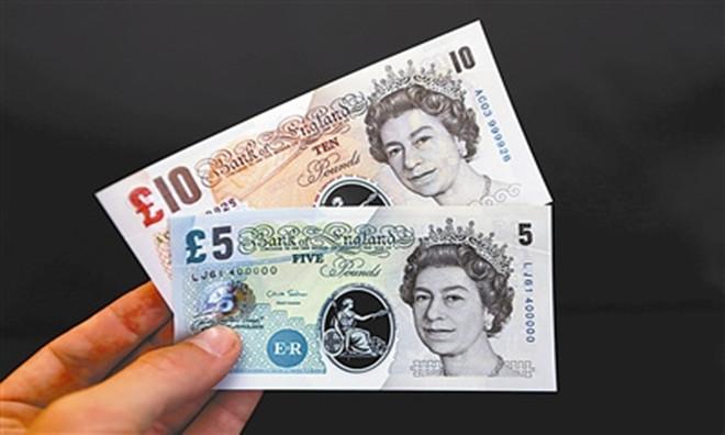 英镑兑美元创下四周以来首次的周线下跌