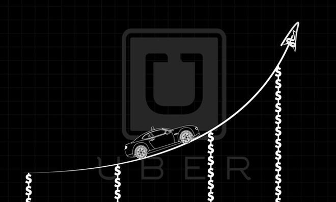 """Uber的野蛮生长:全球扩张与中国的""""烧钱""""大战"""
