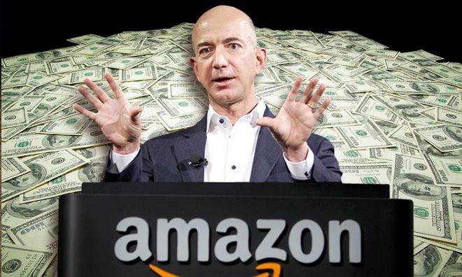 """亚马逊CEO贝佐斯      真正的""""高富帅"""""""