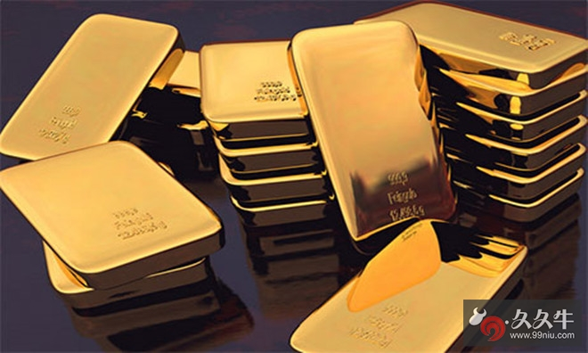 现货黄金触及1289美元