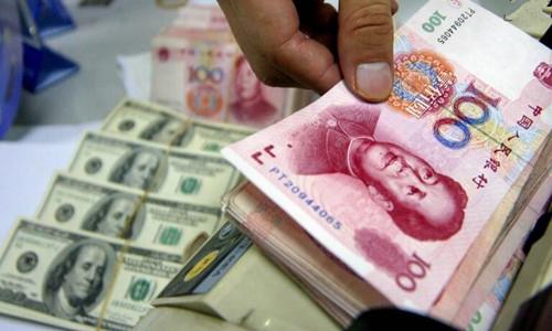 21日人民币对美元中间价上涨35点     报6.6709
