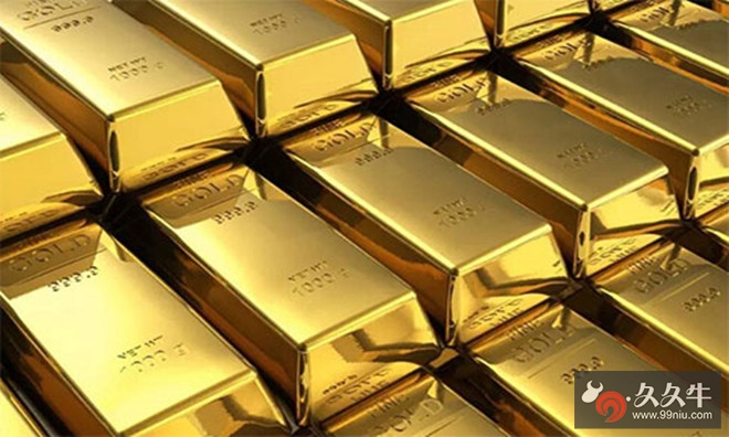 黄金得益于美元的下跌而大涨