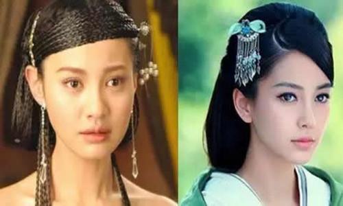 杨雪和杨颖长得很像      是整容还是巧合?