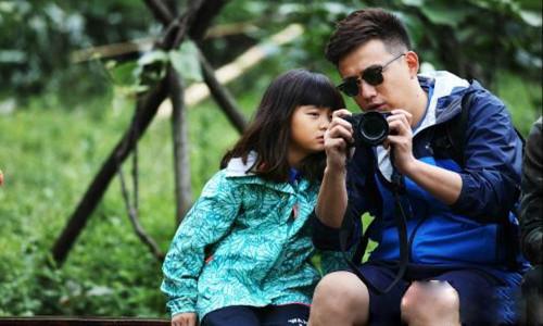 网友热议黄磊女儿黄多多          有这样的女儿真的太美好