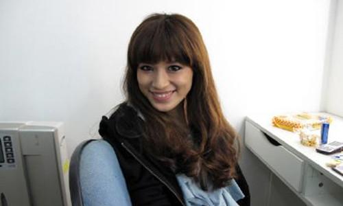 日本模特山内蓝     网友们称她美到没天理